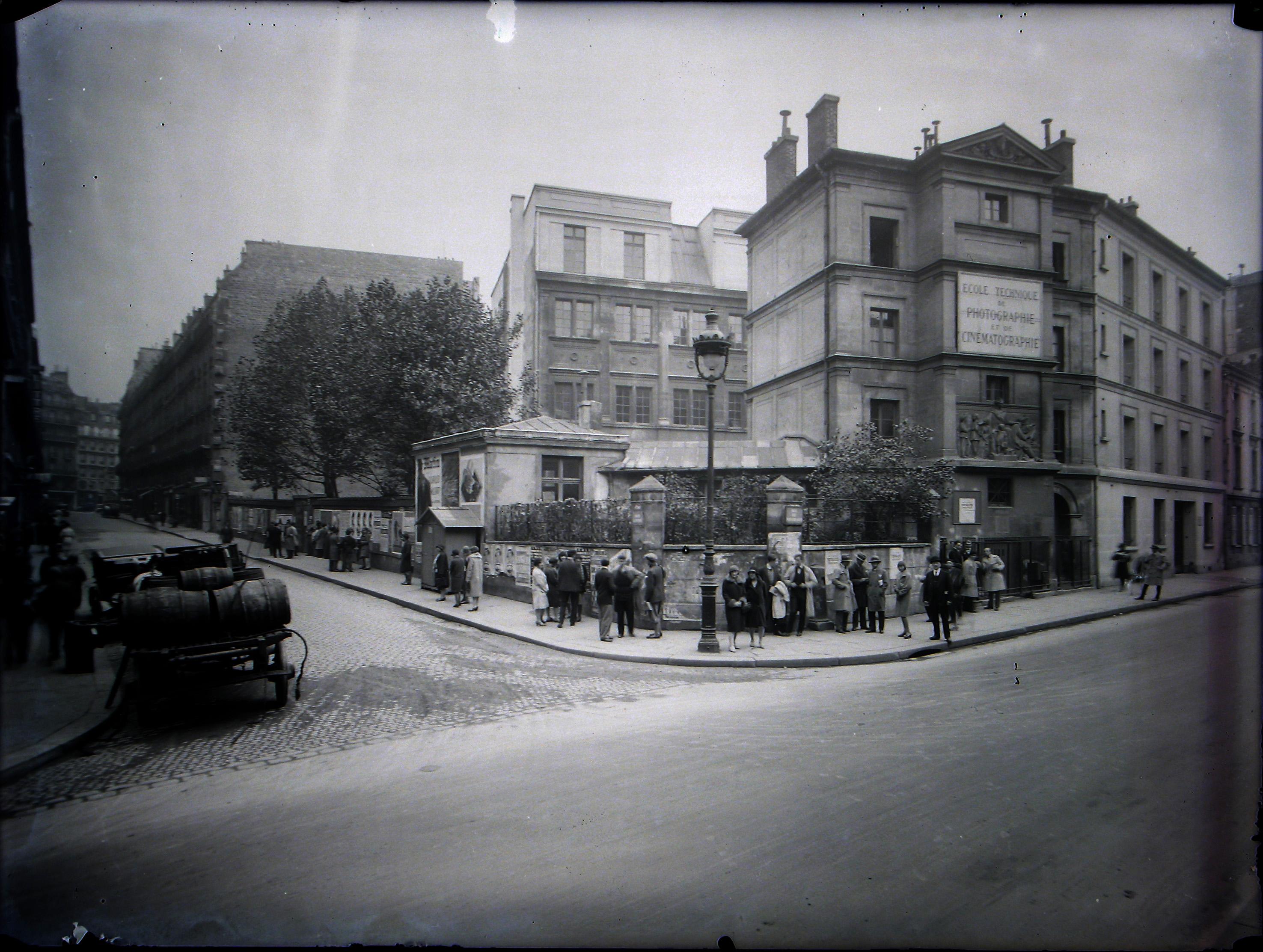 École technique de photographie et de cinématographie (ETPC), 85 rue de Vaugirard (Paris), années 30