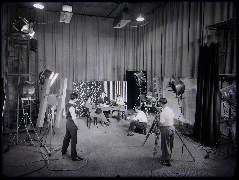 Studio cinéma, années 30