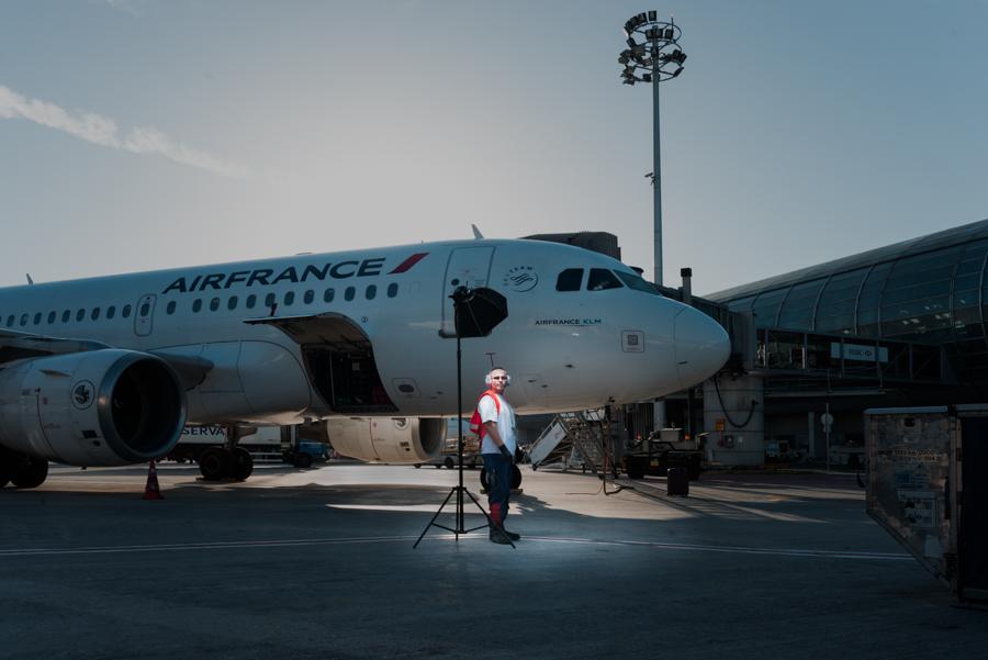 Aéroport par T. Cecchelani / ENS Louis-Lumière
