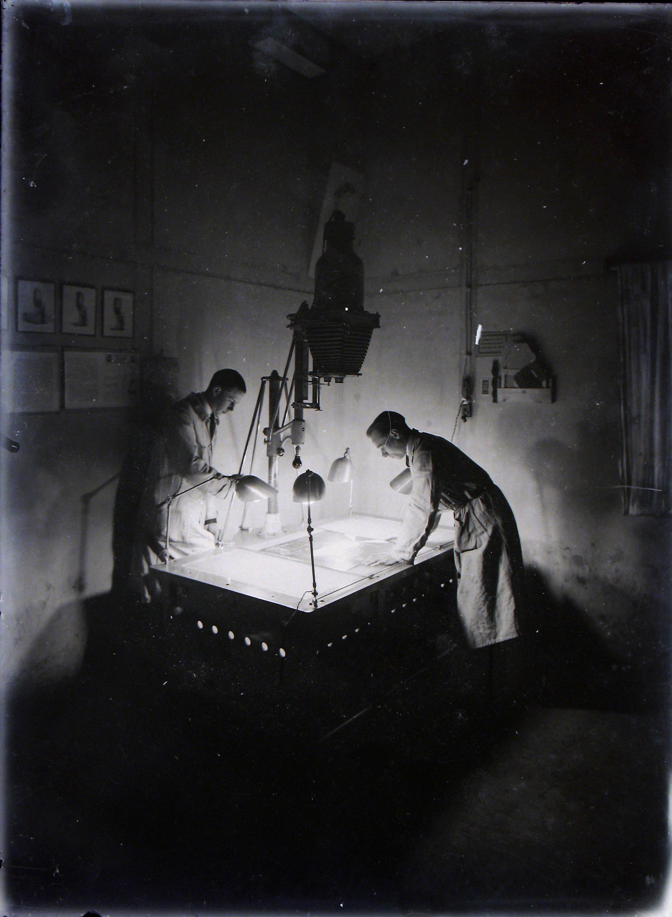 Cours de reproduction photographique, années 30