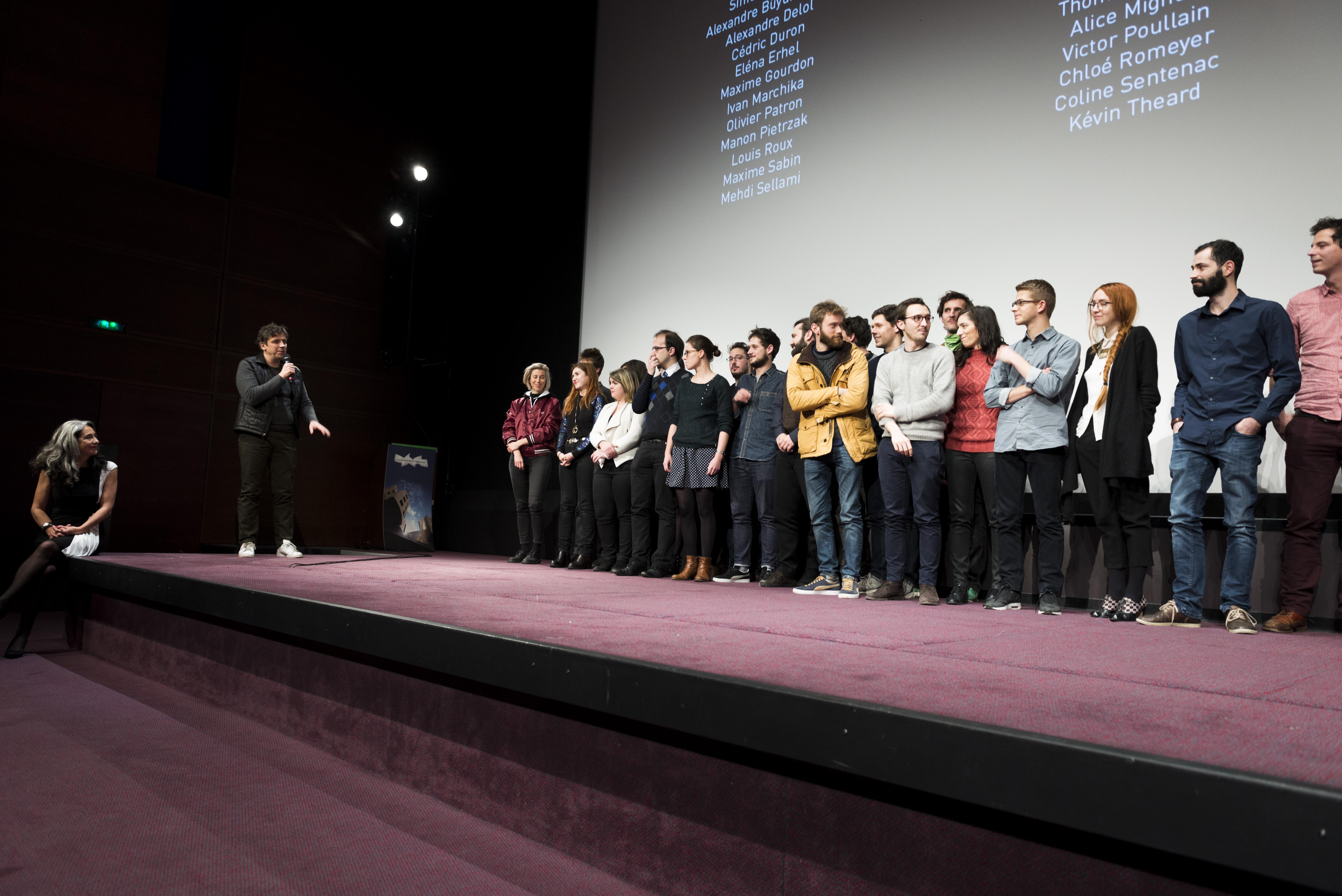 Soirée des diplômés 2017 - Francine Lévy, Gilles Gaillard et la promotion 2016