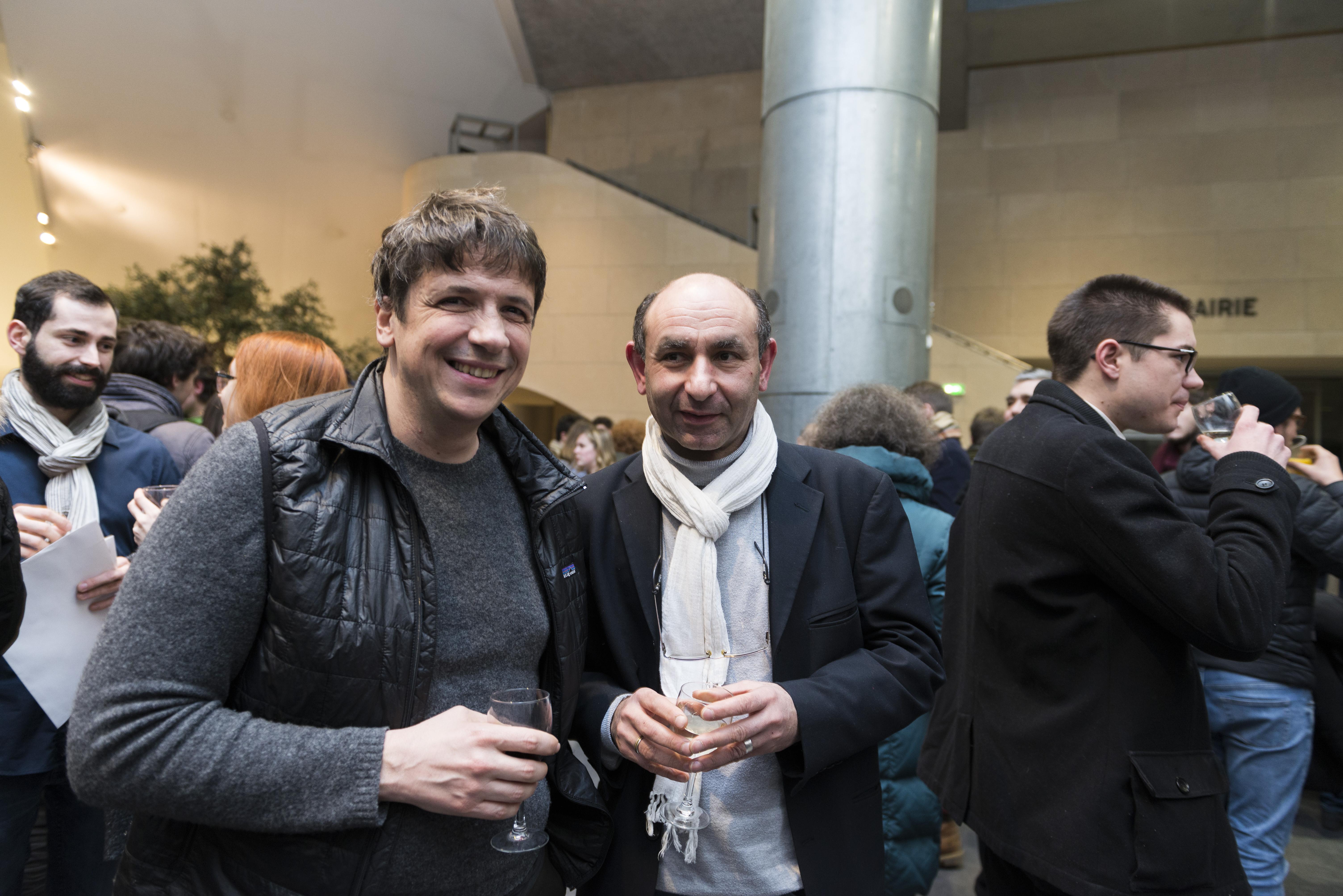 Soirée des diplômés 2017 - Gilles Gaillard et Pascal Martin