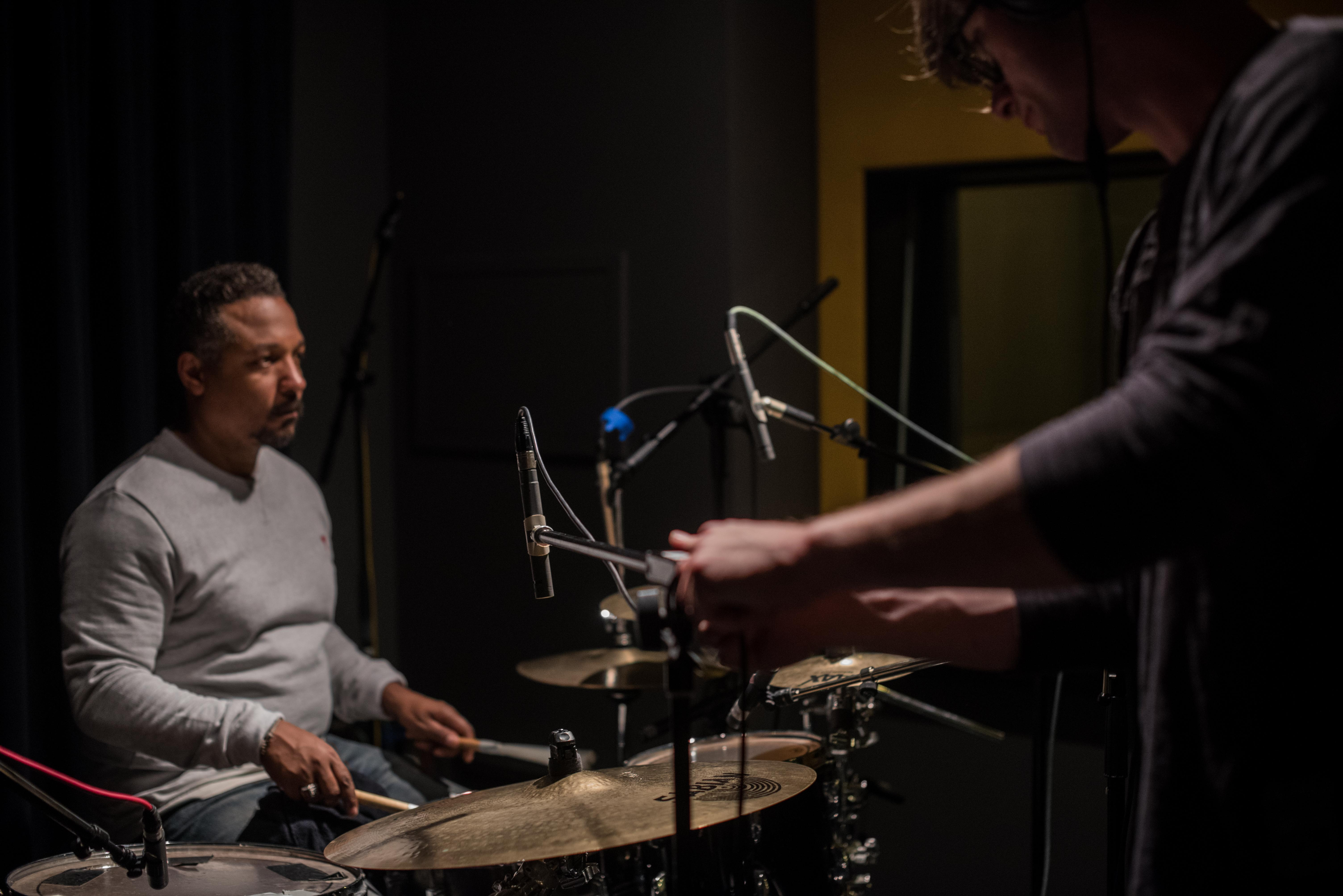 Enregistrement studio de musique Anna Fouqueré / ENS Louis-Lumière