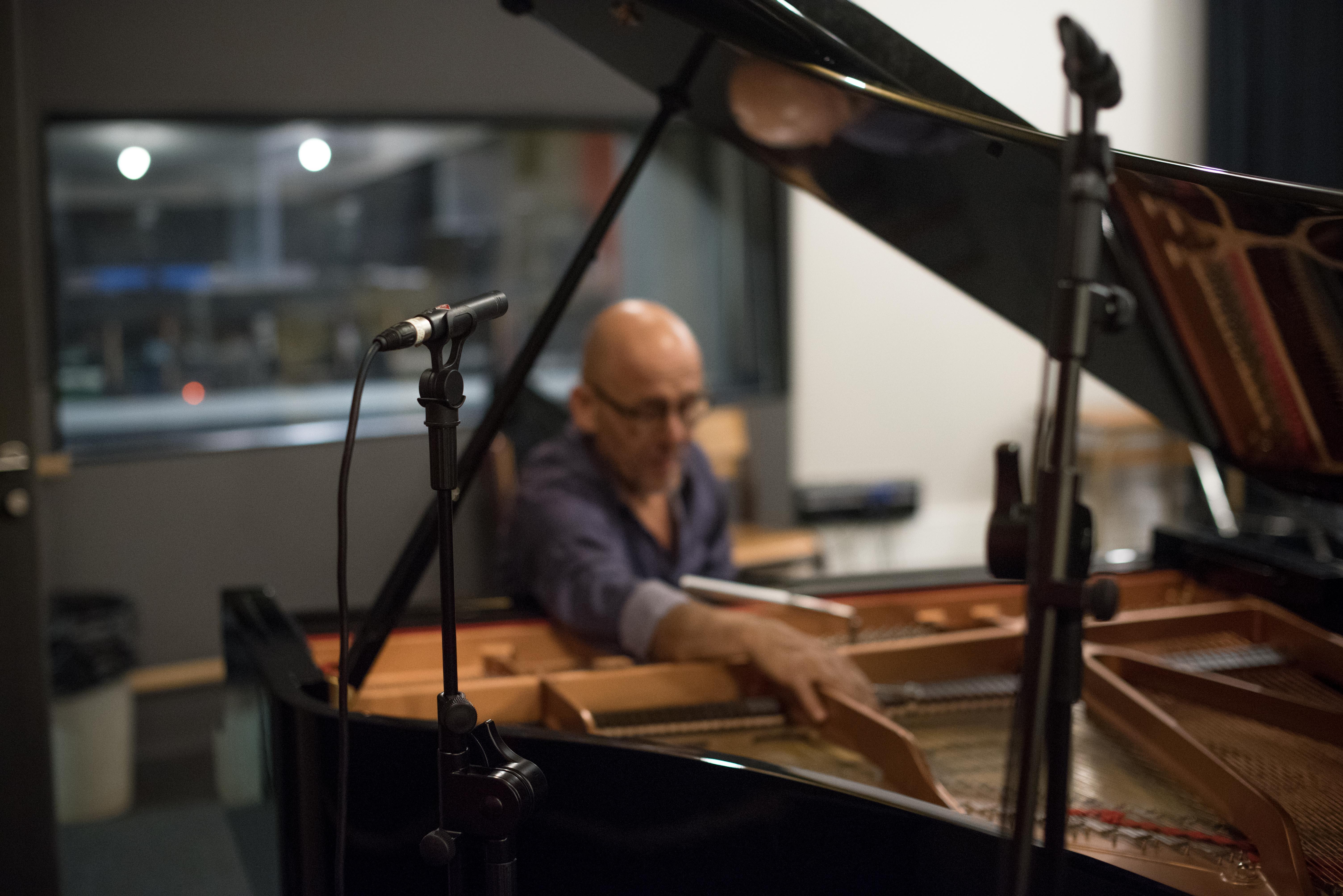 Enregistrement studio de musique Anna Fouqueré