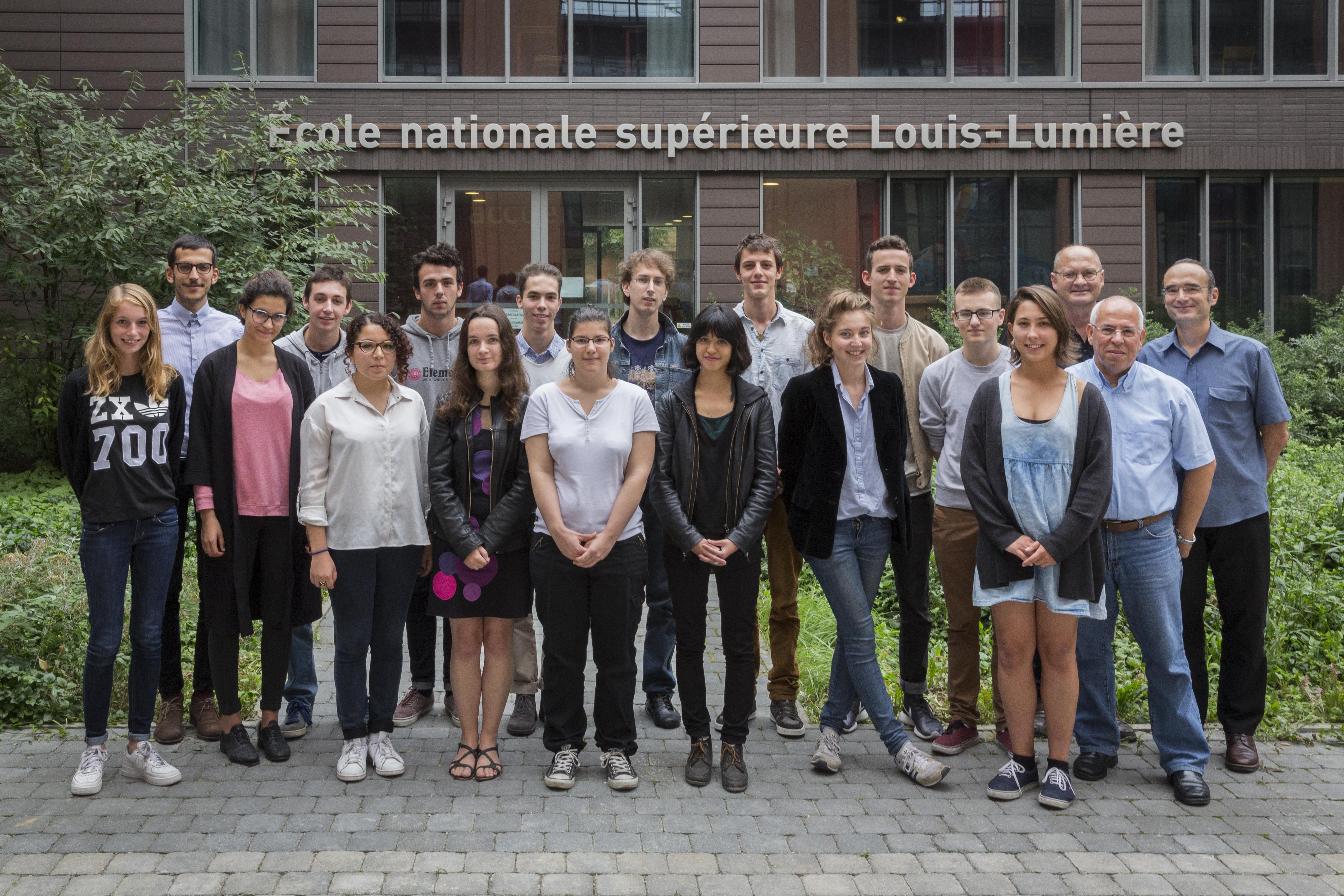 La promotion 2014 ENS Louis-Lumière