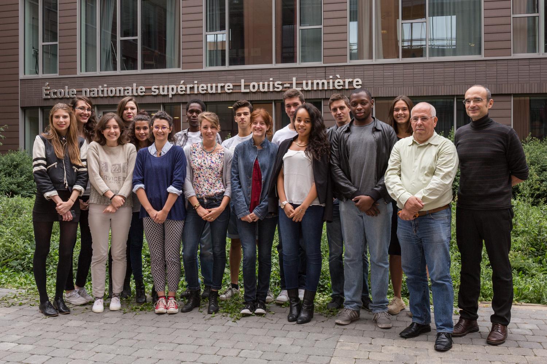 La promotion 2015 ENS Louis-Lumière