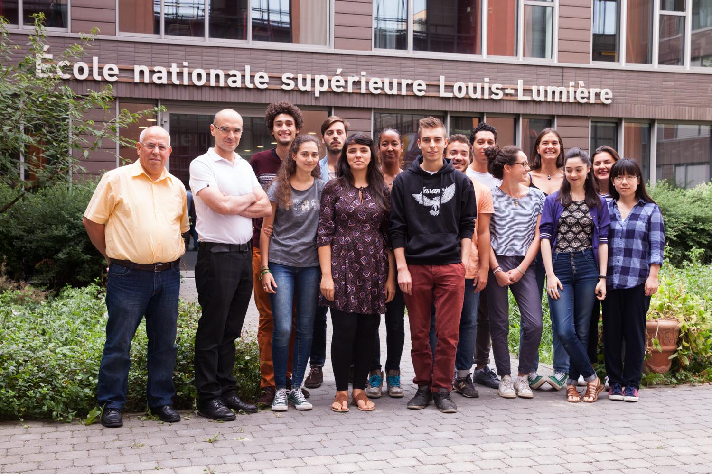 La promotion 2016 ENS Louis-Lumière